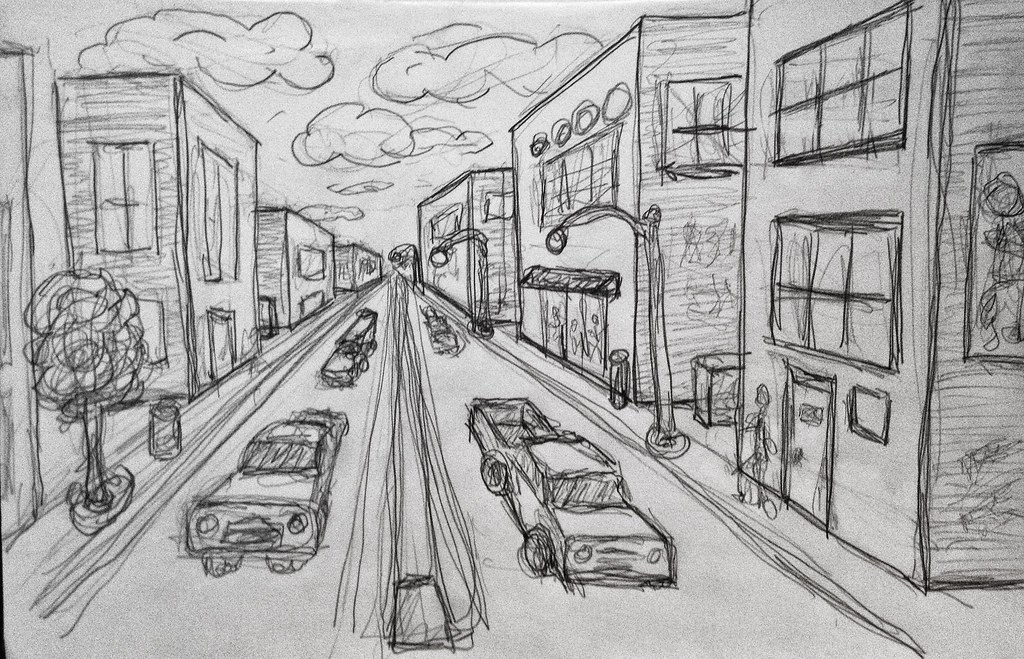 Street View Drawing Street View | by