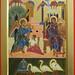 2014 Icône de l,Annonciation avec les trois Cygnes - The Annunciation with the Three Swans (main de - hand of Julia Jabre)