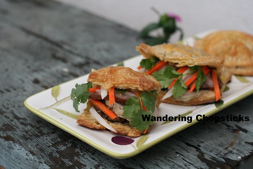 Banh Pa Te So Nhan Banh Mi (Vietnamese Pate Chaud (French Hot Pastry Pie) with Sandwich Fillings) 2