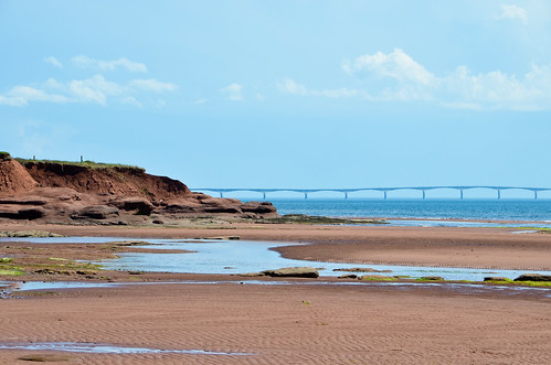 Red Sands of Chelton Beach