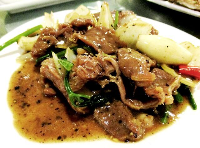 Flavours Thai Kitchen black pepper beef