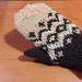 Some Fair Isle mittens