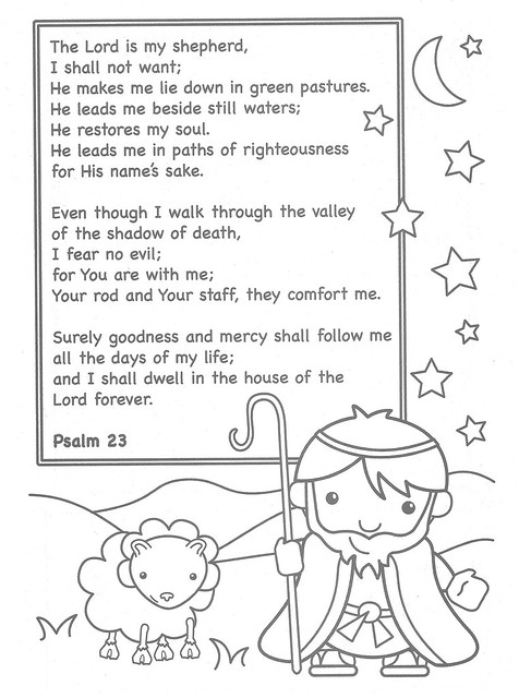 the lord is my shepherd coloring page the lord is my shepherd coloring page flickr photo
