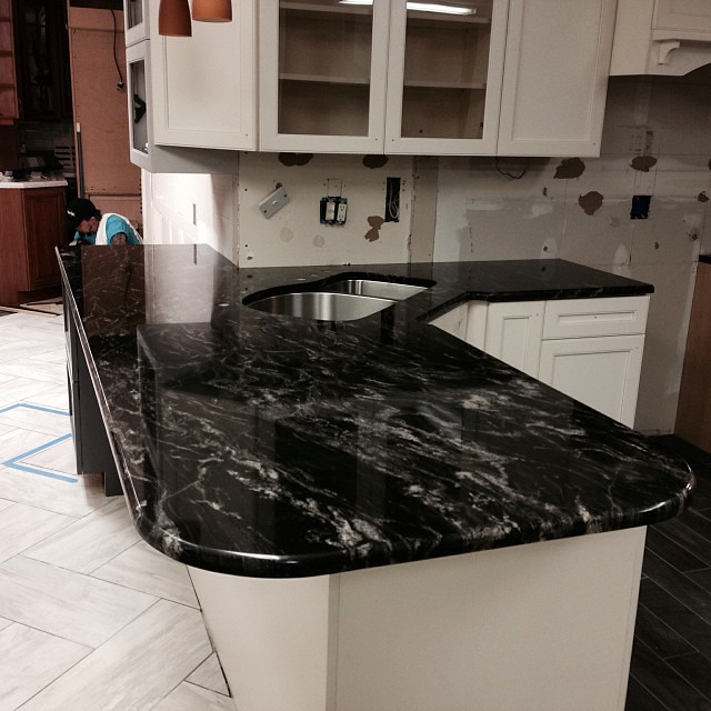 Black Forest Granite Countertops #innovatestones #instagra