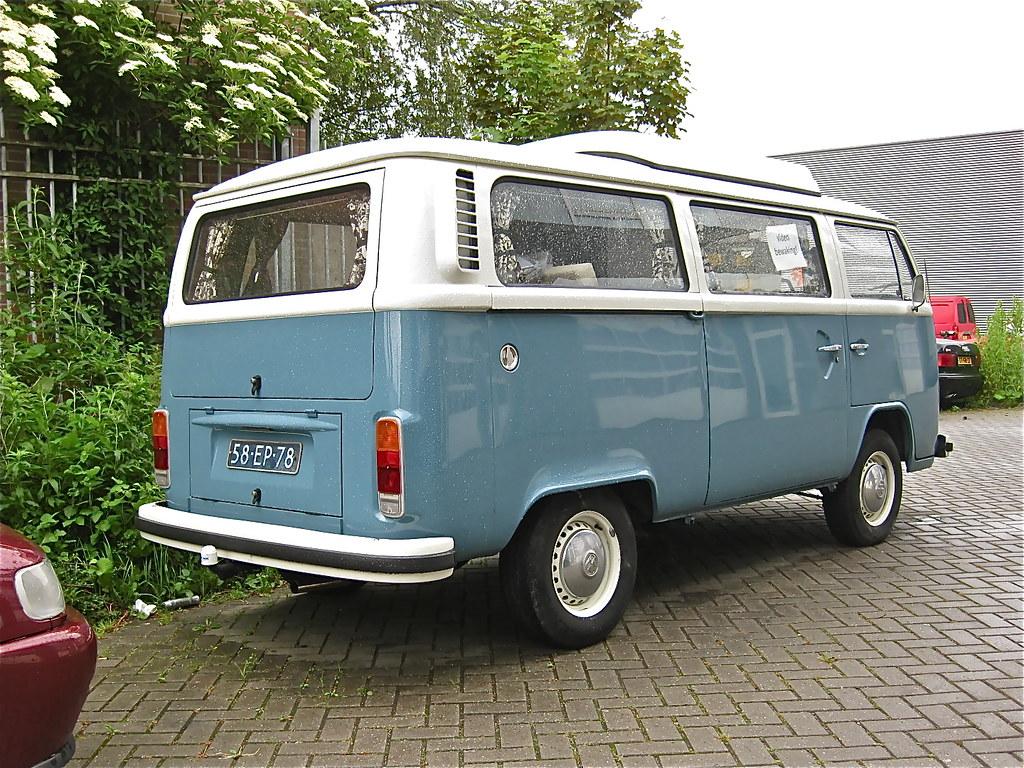 58 Ep 78 Volkswagen T2 Quot 23 Quot Transporter Campervan 1975