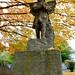 Broken wingtip angel, Oakwood Cemetery, Raleigh