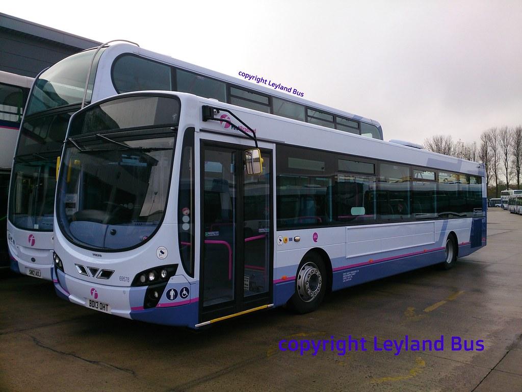 First Greatermanchester 69578 Ex First Bradford Brand