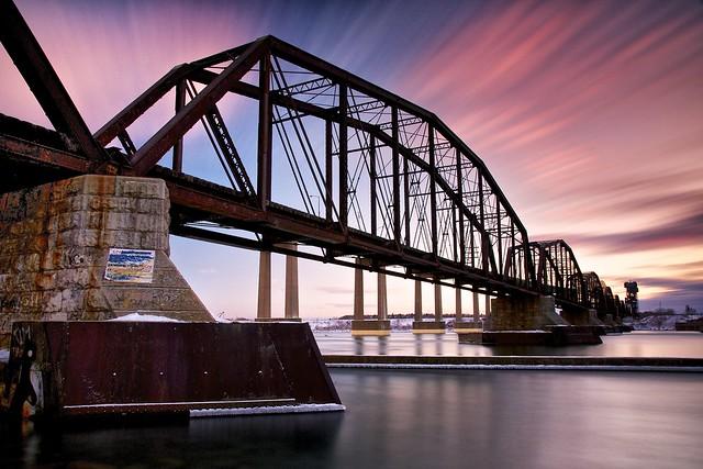 International Railroad Bridge Sault Ste Marie Ontario