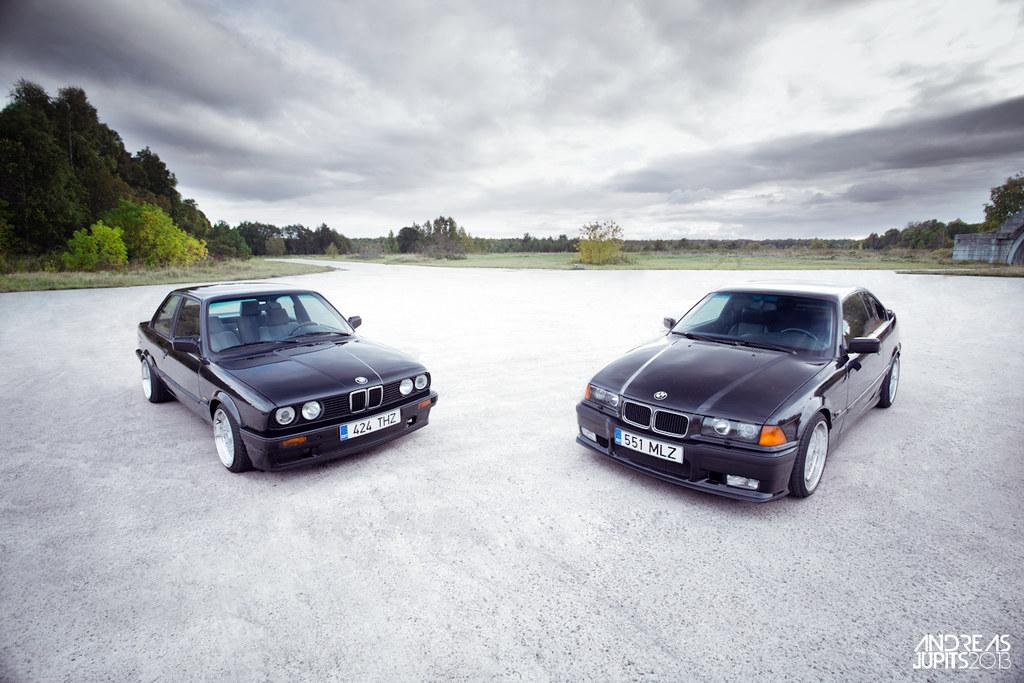 Bmw 320i Vs 328i >> BMW E36 328i M-Tech vs BMW E30 320i | Andreas Jupits | Flickr