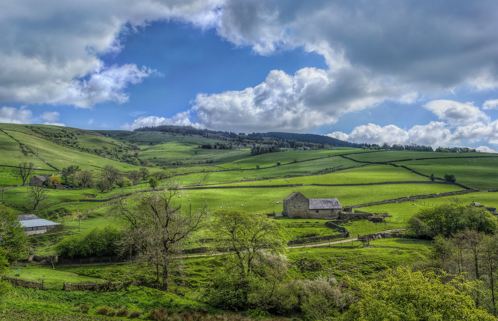 The Farm  Taken At Teggs Nose Country Park Highlights6