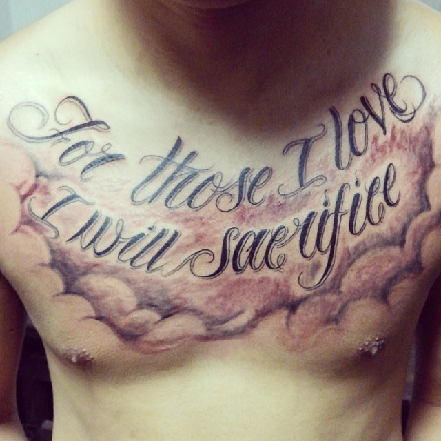 For Those I Love I Will Sacrifice... Free Hand #script #qu