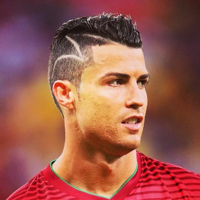 Cristiano Ronaldo Haircut 2014 Back #love the new #haircut...