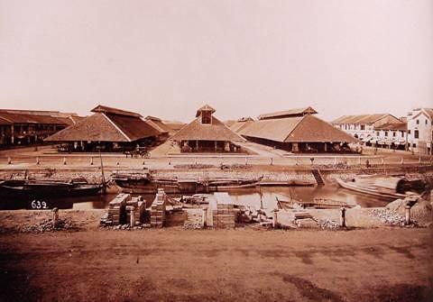 Chợ Bến Thành cuối thế kỷ XIX