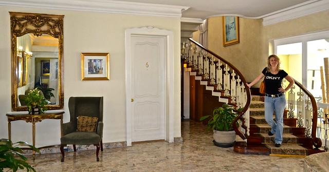 Lobby - Hotel San Carlos, Guatemala City
