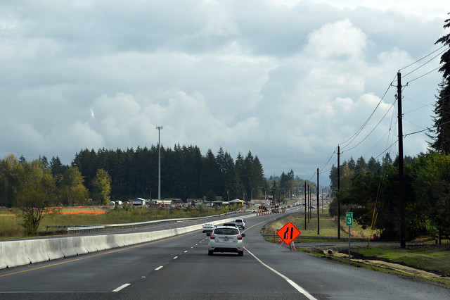 SR 502 west of Battle Ground
