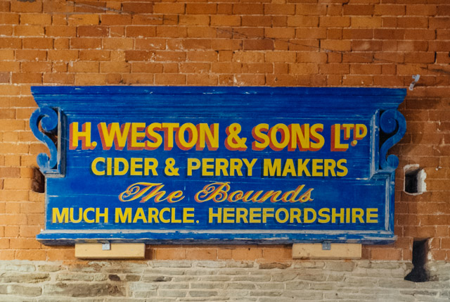 h weston and sons sign