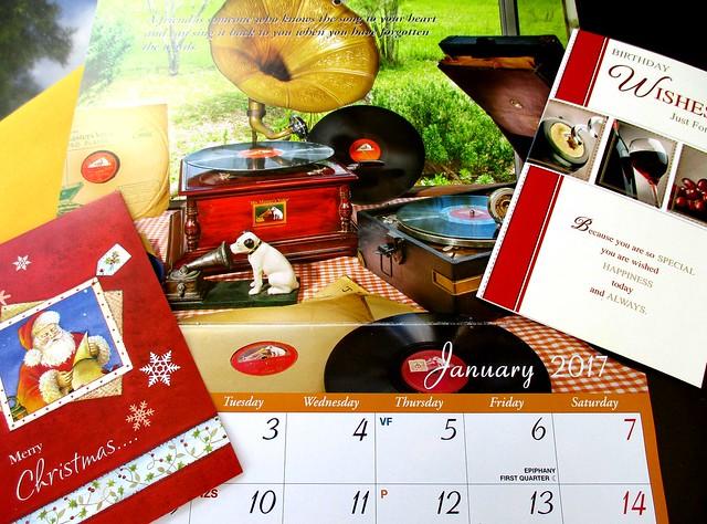 Cards & calendar from Jasmine