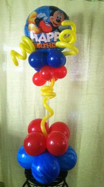 Mickey mouse balloon centerpiece explore anns balloons