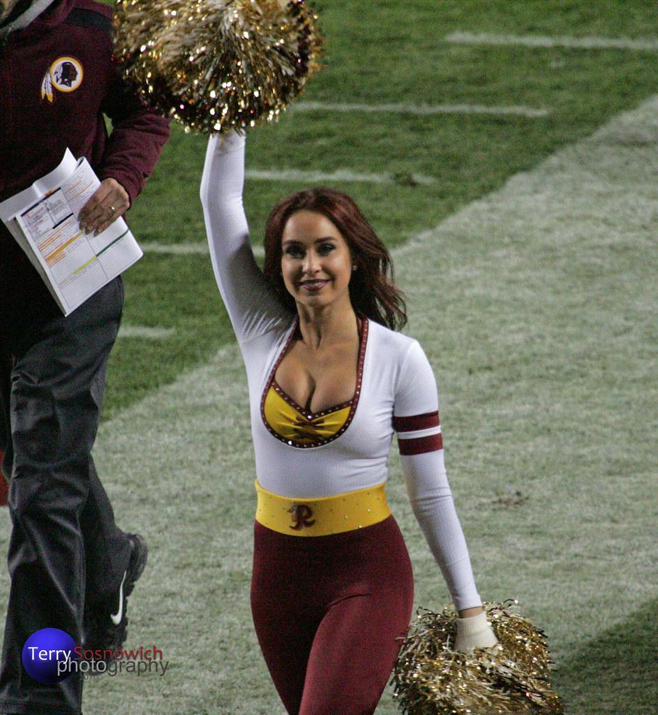 Washington Redskinette Cheerleader Allison. | New York Giant… | Flickr