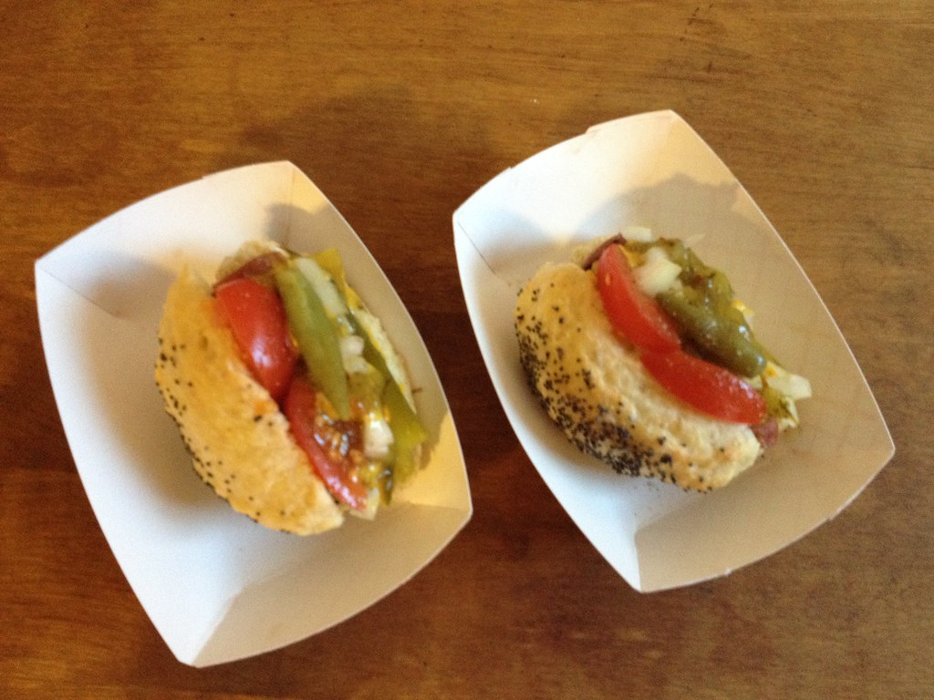 snap mini hot dog test kitchen hot dog catering available flickr. Black Bedroom Furniture Sets. Home Design Ideas