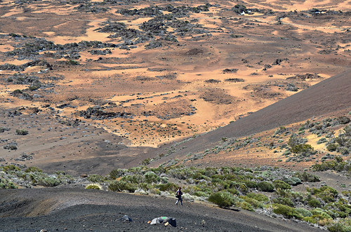 Walking on volcanoes, Mount Teide, Tenerife