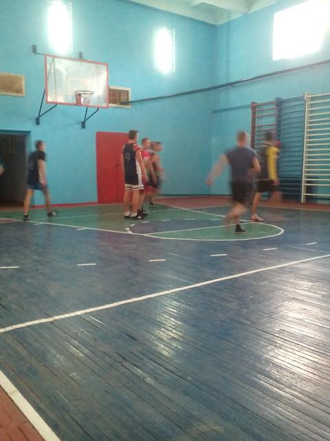 Баскетбол-тренування