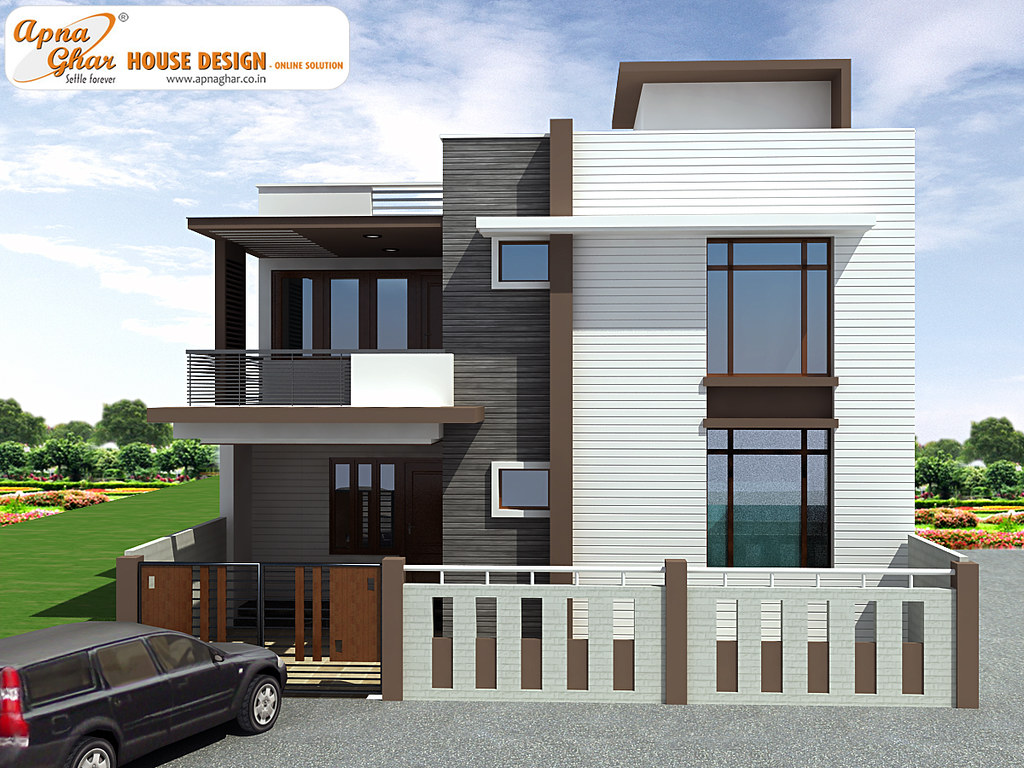 Duplex House Design 4 Bedrooms Duplex House Design In