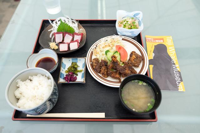竹トンボ 鯨定食