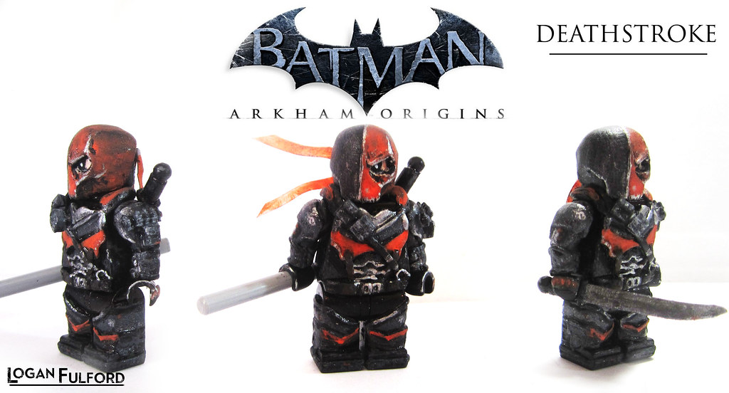deathstroke arkham origins this is as promised