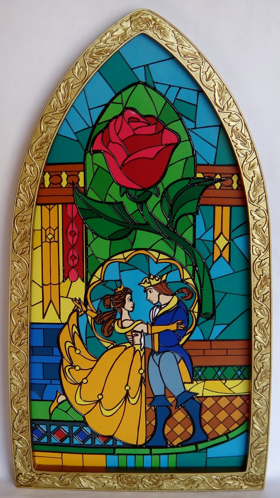 Beauty And The Beast Window Replica Disney Store Purchas