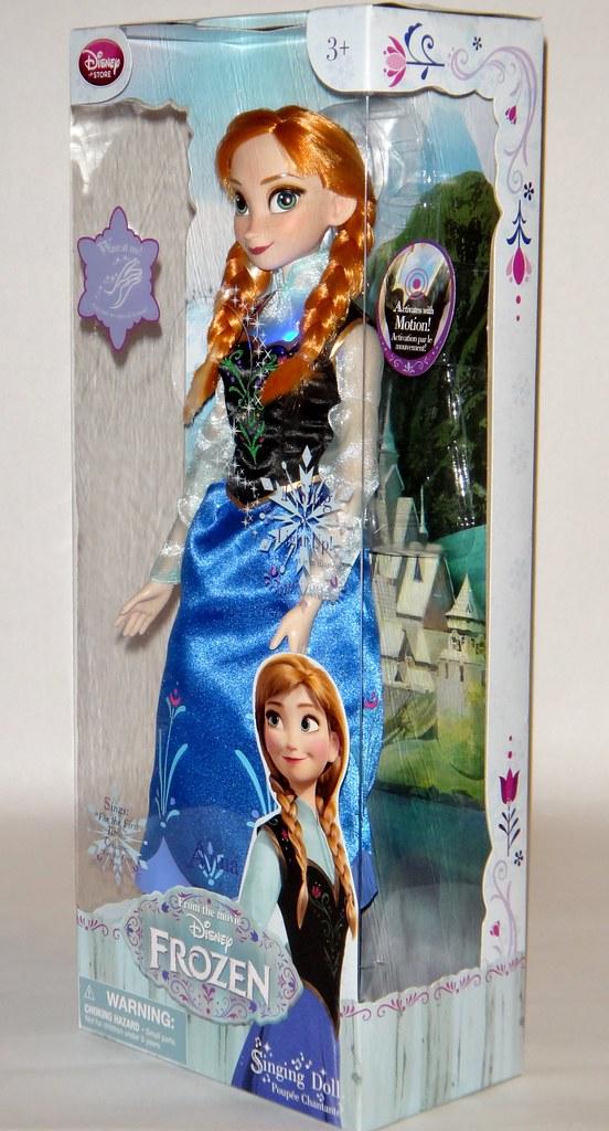 Singing Anna 16 Doll Frozen Disney Store Purchase