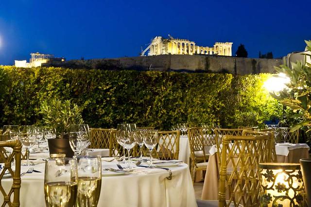 roof garden divani palace acropolis hotel flickr. Black Bedroom Furniture Sets. Home Design Ideas