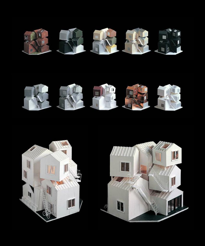 Sou Fujimoto   Tokyo Apartment   Model 01 | 準建築人手札網站Forgemind ArchiMedia |  Flickr
