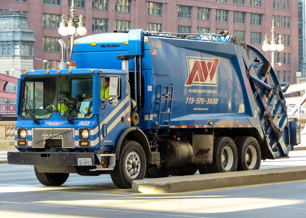 Allied Waste Services Mack 1103 Chicago Illinois