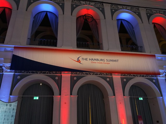 Hamburg Summit 2016 - China meets Europe