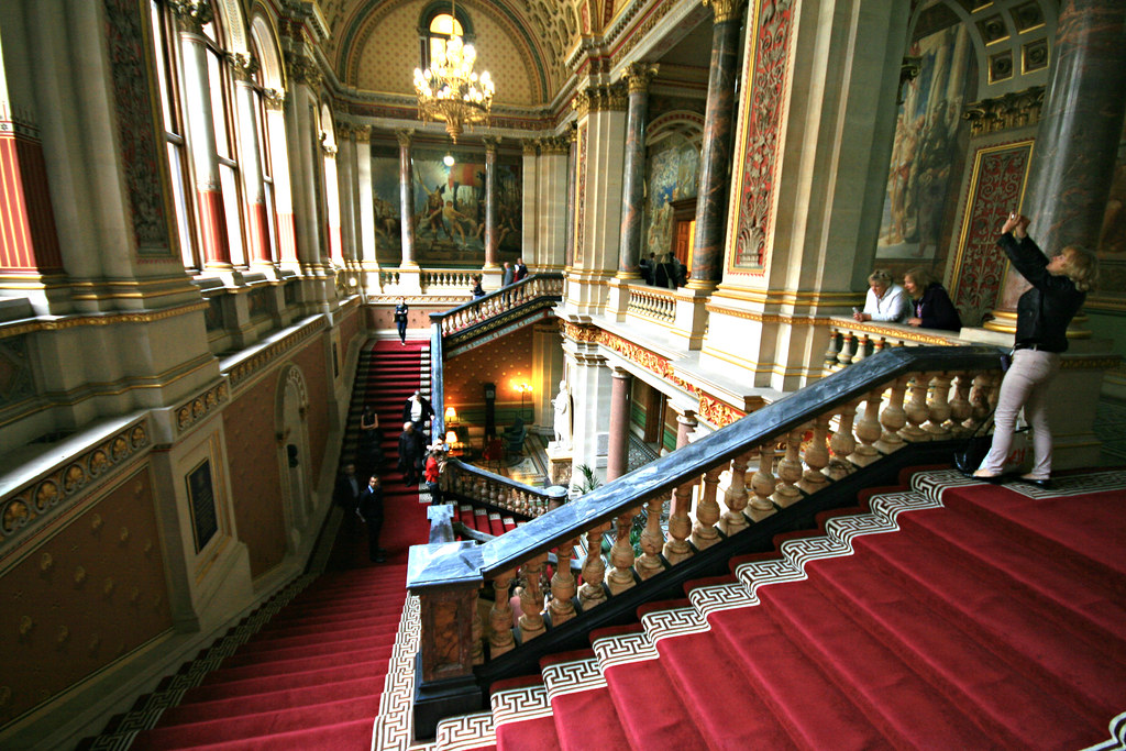 The grand staircase the foreign and commonwealth office flickr - Foreign and colonial office ...