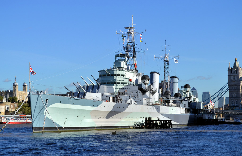 HMS Belfast | River Thames, London, 4th November 2013. | R