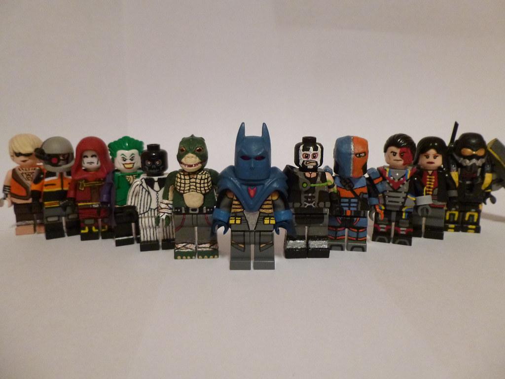 Lego Deadshot Arkham Origins Decals | www.imgkid.com - The ...