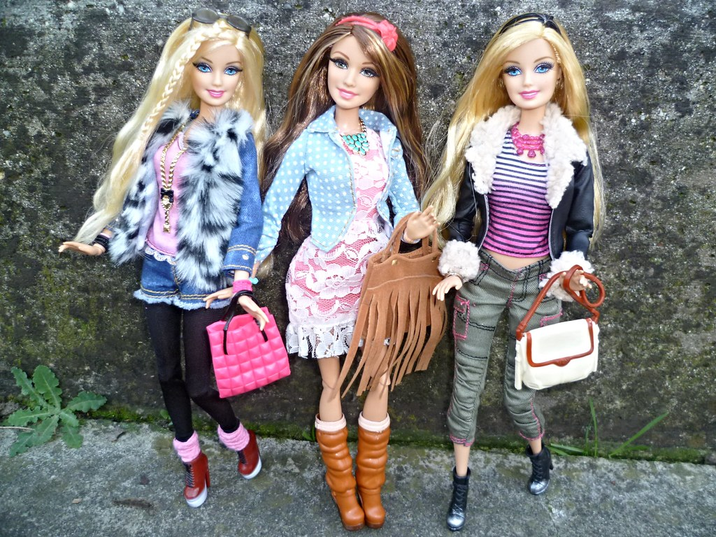 2014 Glam Luxe Style Barbie Teresa Barbie They Are Absol Flickr