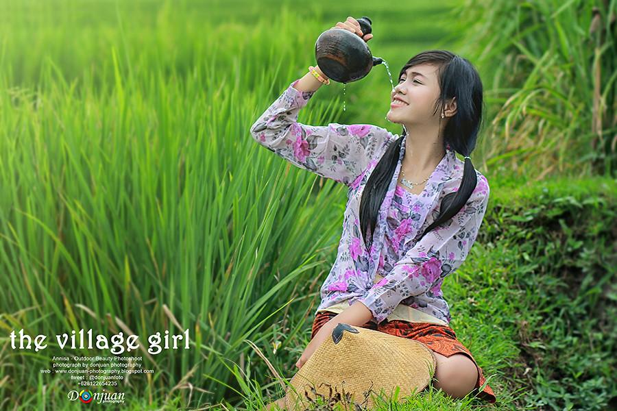 gadis desa | Beauty Photoshoot Outdoor by Donjuan ...