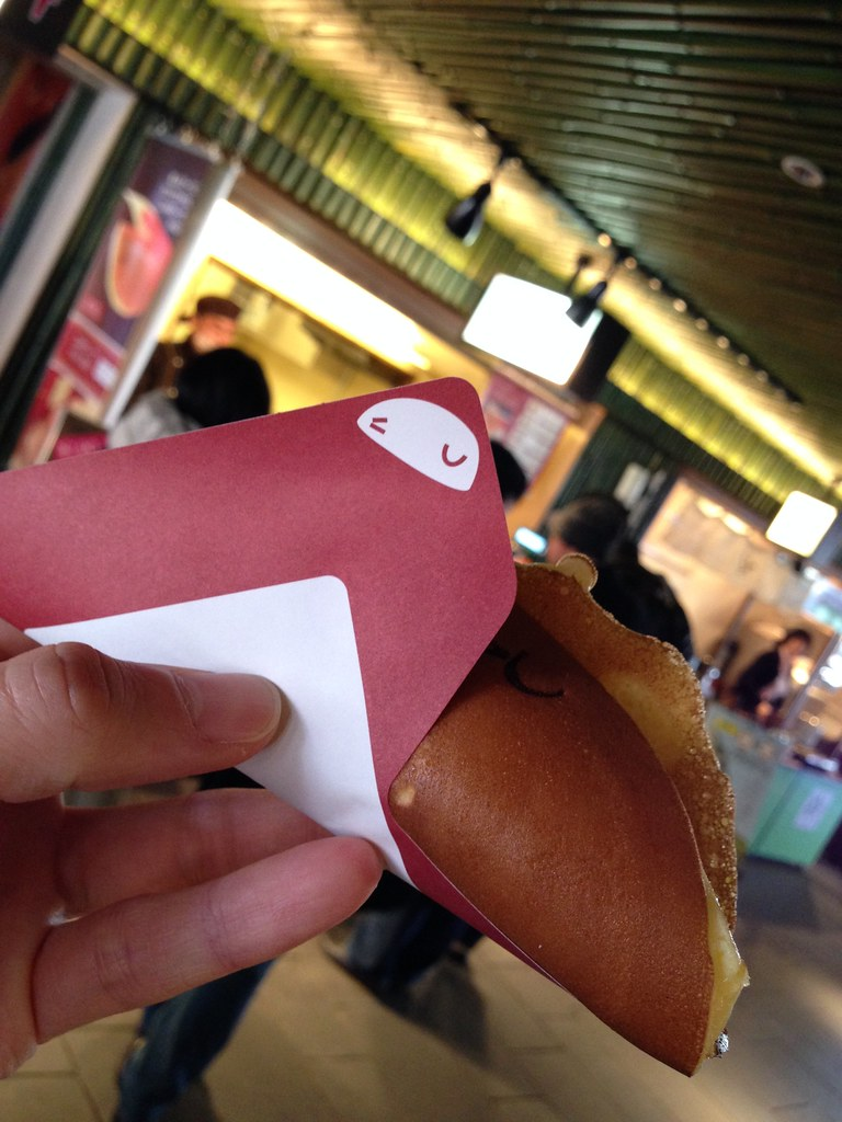 Fish-shaped dorayaki