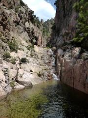 1ère cascade intermédiaire du Niffru dans le 2ème boyau rocheux