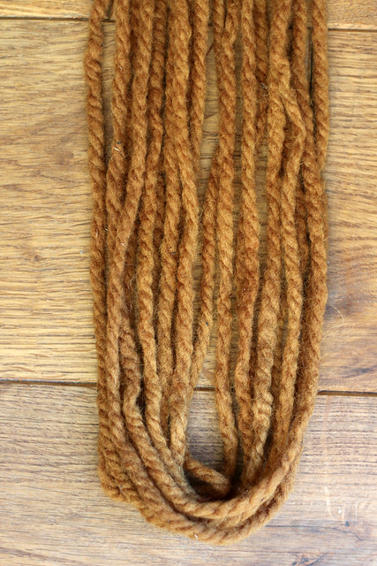 Yarn Naturally Dyed with Coreopsis