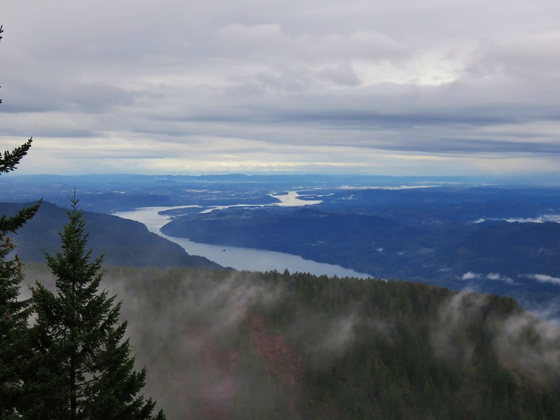 Columbia River from Nesmith Point