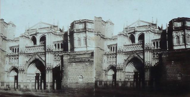 Catedral de Toledo en 1856. Fotografía estereoscópica de Joseph Carpentier. Colección de Francisco de la Torre y Laura Valeriano