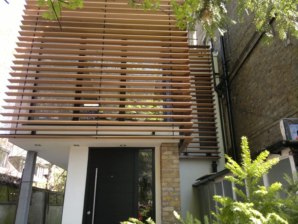 Wooden brise soleil nationwide louvre company nlc is bas flickr for Brise soleil design