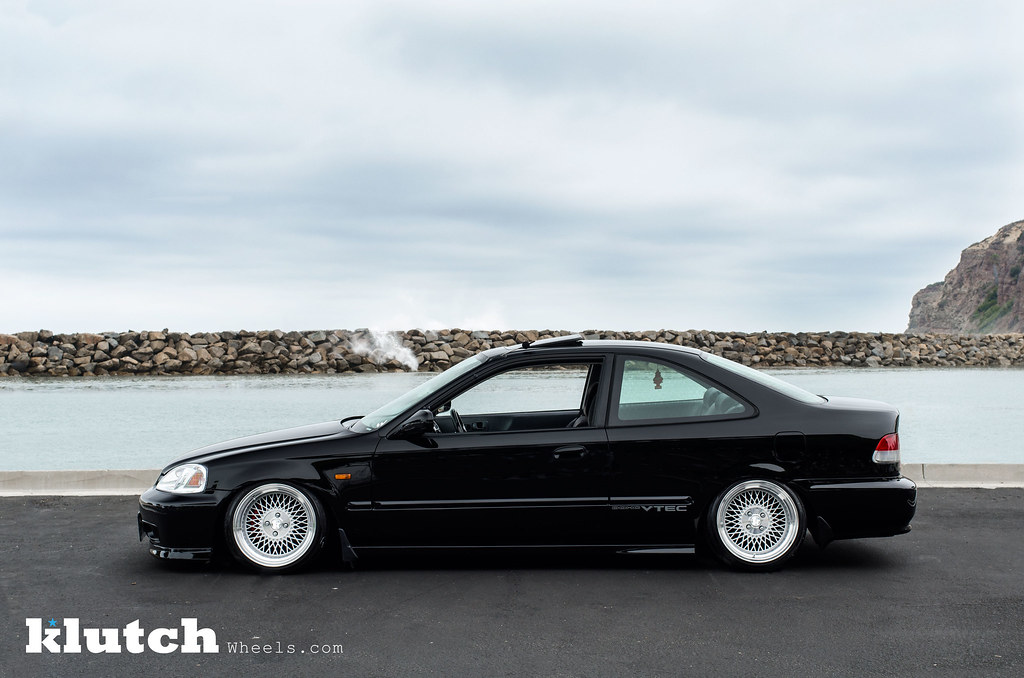 Honda Civic Coupe Si On Klutch Wheels Sl 1 Honda Civic