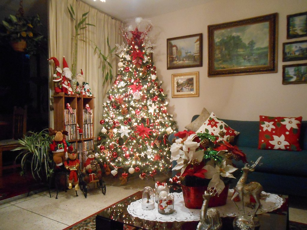 Mi arbolito de navidad 2013 2014 a pesar de la situacion - Adornos de navidad 2014 ...