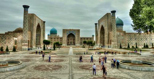 The Registan Square,Samarkand,Uzbekistan