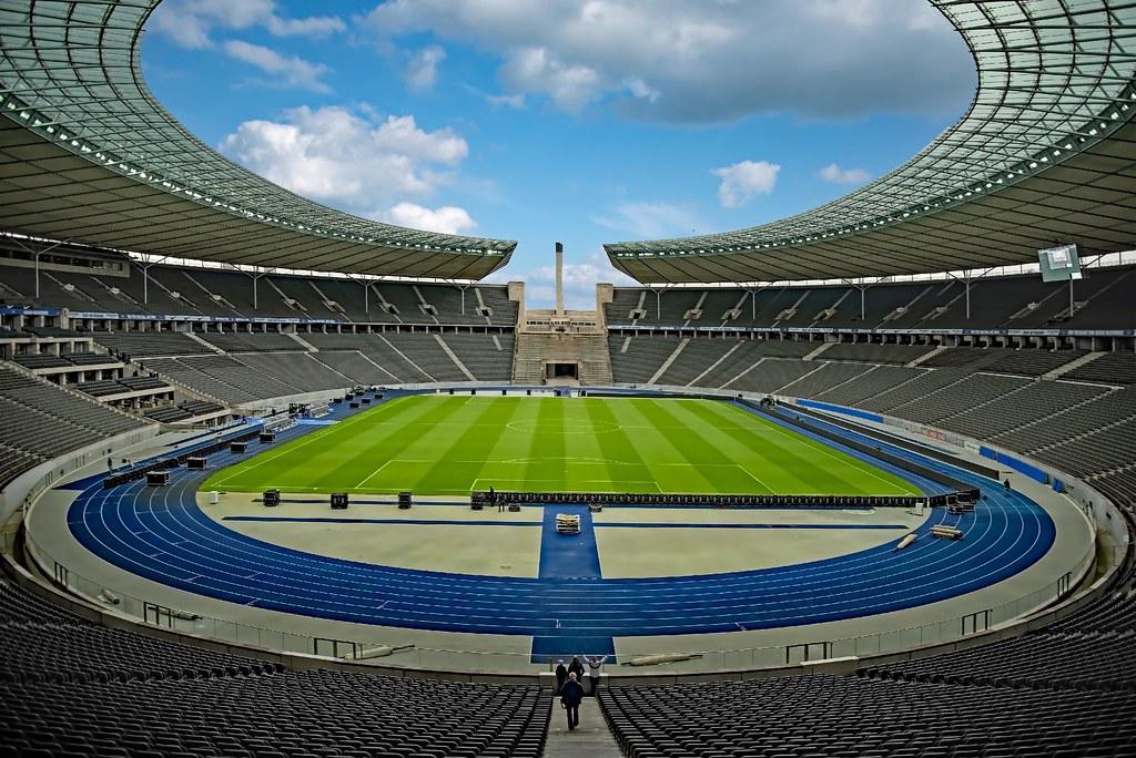 Olympiastadion Berlin Sichtbehinderung